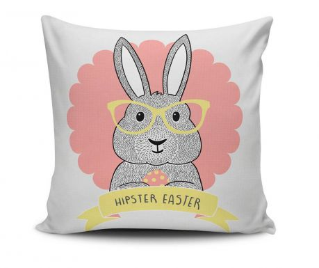Perna decorativa Hipster Easter 45x45 cm