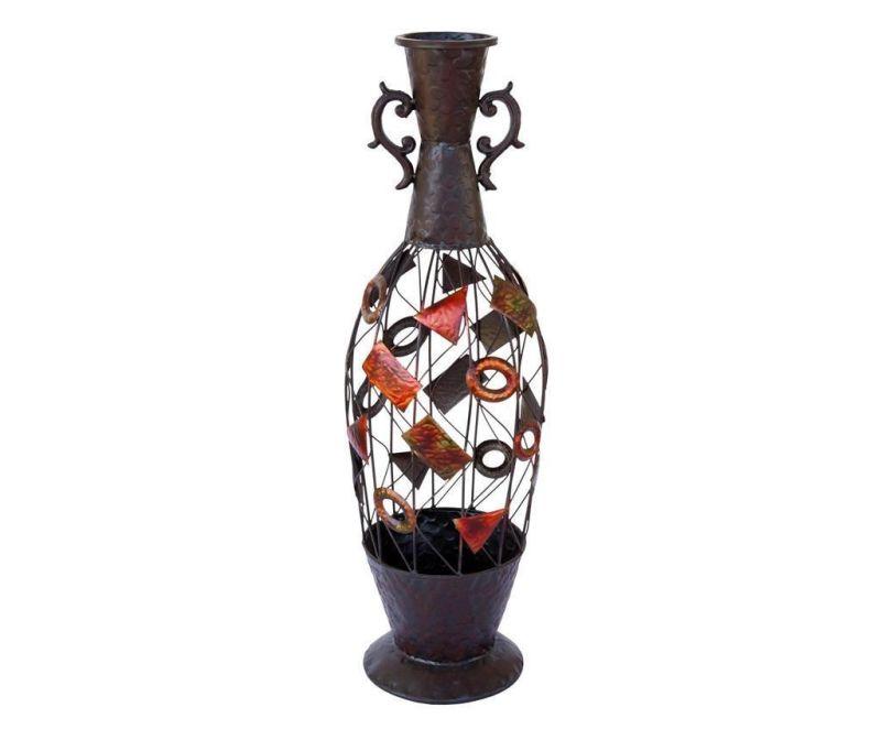 Vaza Geometric Dried Flowers