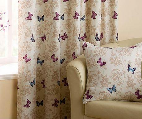 Калъфка за възглавница Vintage Butterflies Purple 43x43 см
