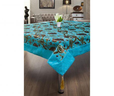 Gulfem Turquoise Asztalterítő 155x155 cm