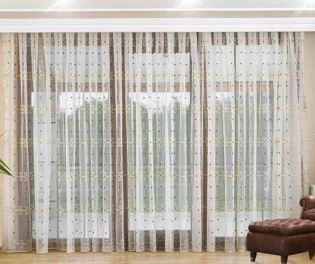 Curtain Welma Brown 200x260 cm