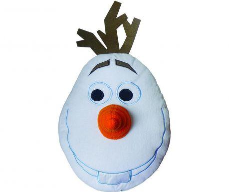 Disney Frozen Olaf 3D Díszpárna 35x48 cm