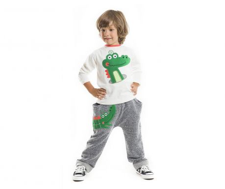 Set bluza si pantaloni Crocodile Baggy