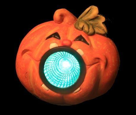 Decoratiune luminoasa Pumpkin Smile