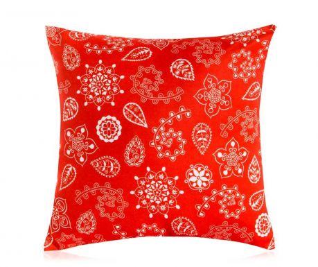 Perna decorativa Let It Snow 45x45 cm