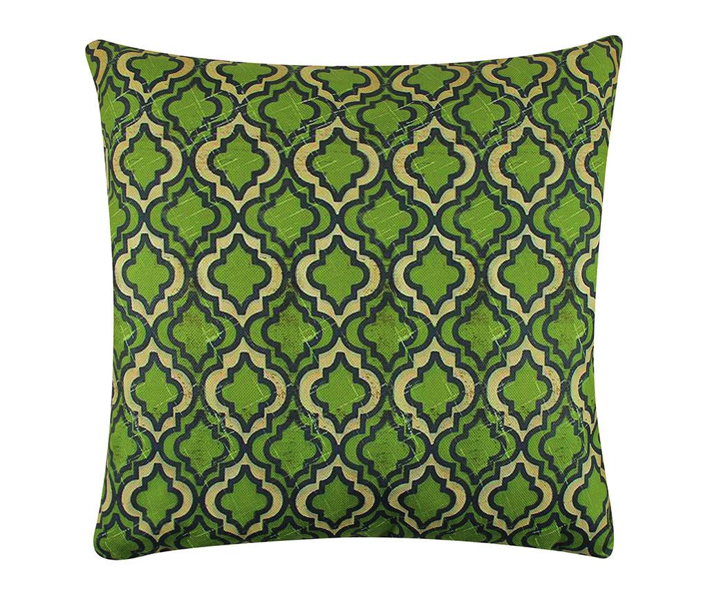 Perna decorativa Kay 43x43 cm - Gravel, Verde