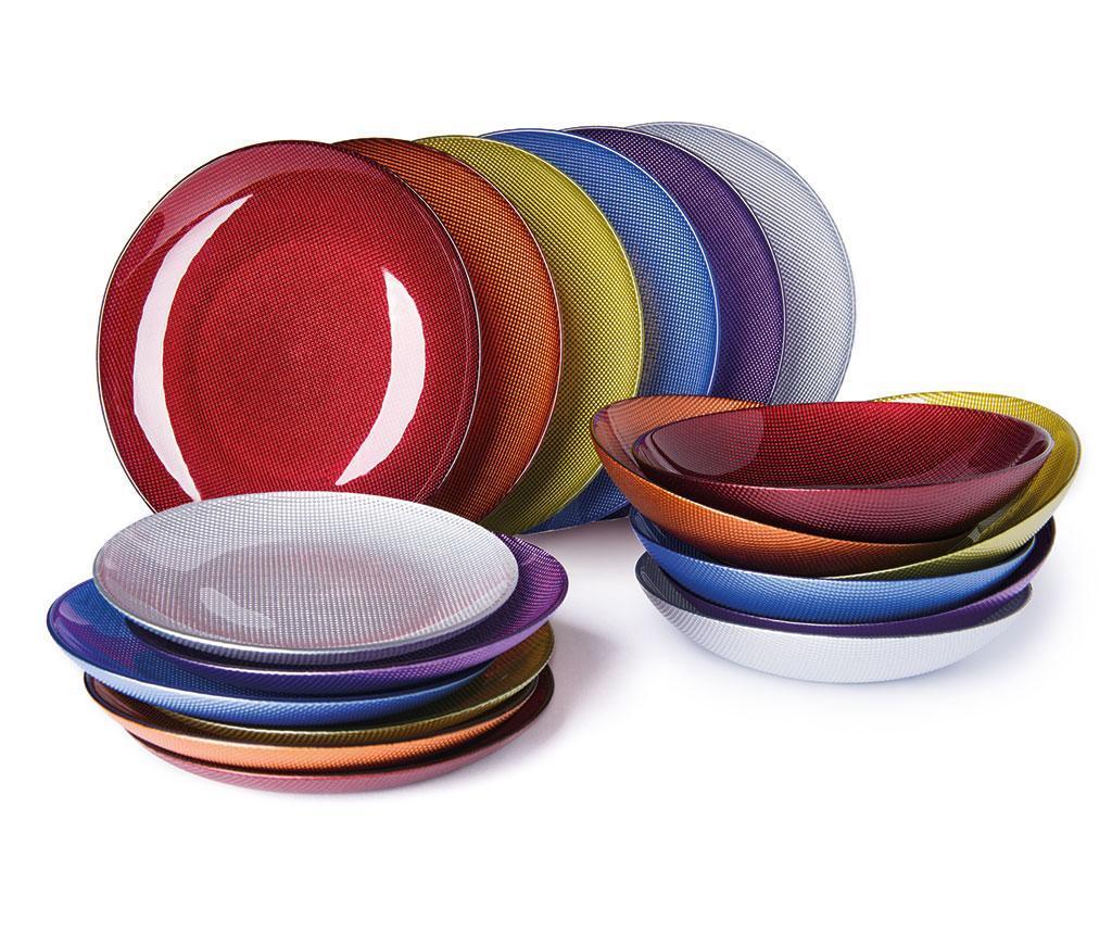 Set Masa Diamond Multicolor Multicolor