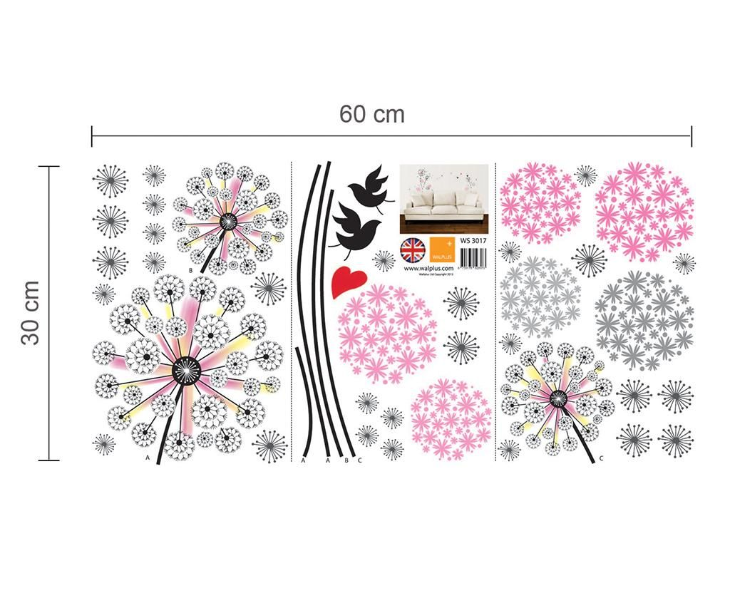 Pink Dandelion Matrica