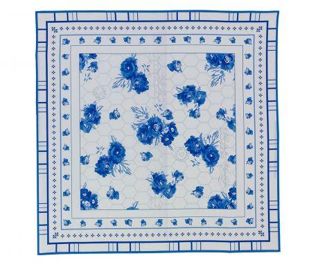 Blue Flower Asztalterítő 140x140 cm
