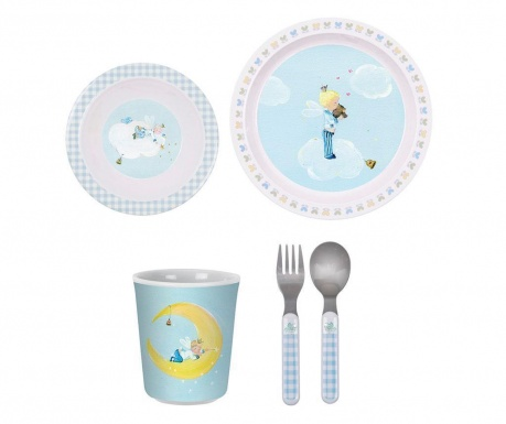 Детски комплект за маса 5 части Little Prince