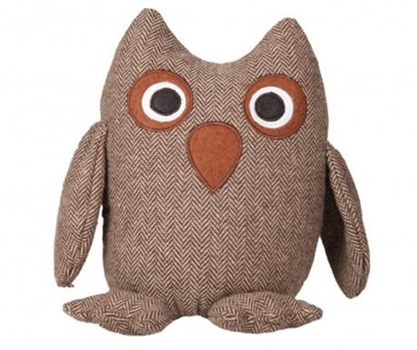Owl Brown Ajtótámasz