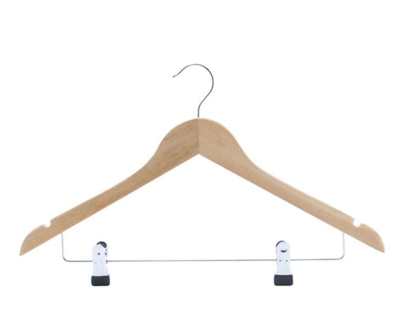 Set 2 obešalnikov za oblačila Clips