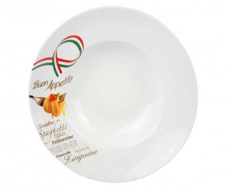 Farfurie pentru paste Buon Appetito