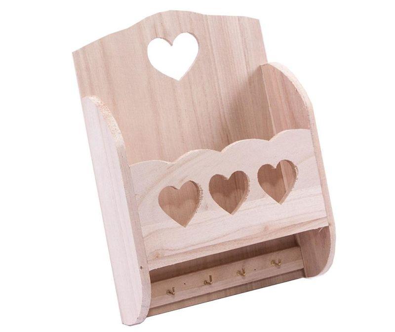 Držač za ključeve DIY Hearts