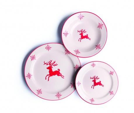 Jedálenská sada 18 ks Reindeer