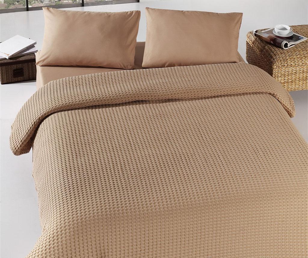 Cuvertura Pique Henry Brown 200x240 cm - Eponj Home, Maro de la Eponj Home