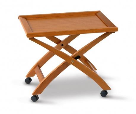 Skládací stolek Tea Brown