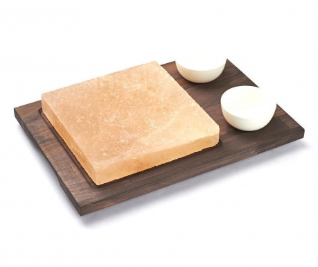 Комплект солна плоча за готвене 4 части Salt Square 20x20 см