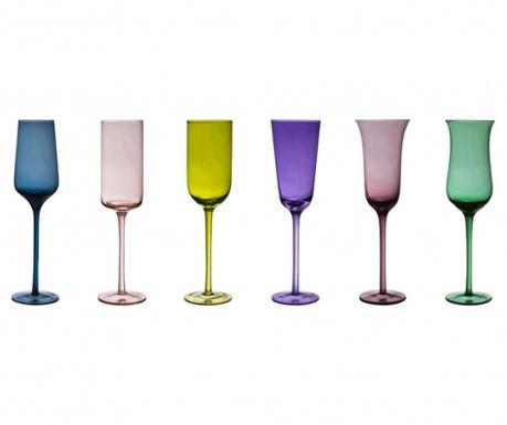 Set 6 čaša za pjenušac Irena 200 ml