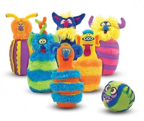 Joc de bowling Happy Monsters