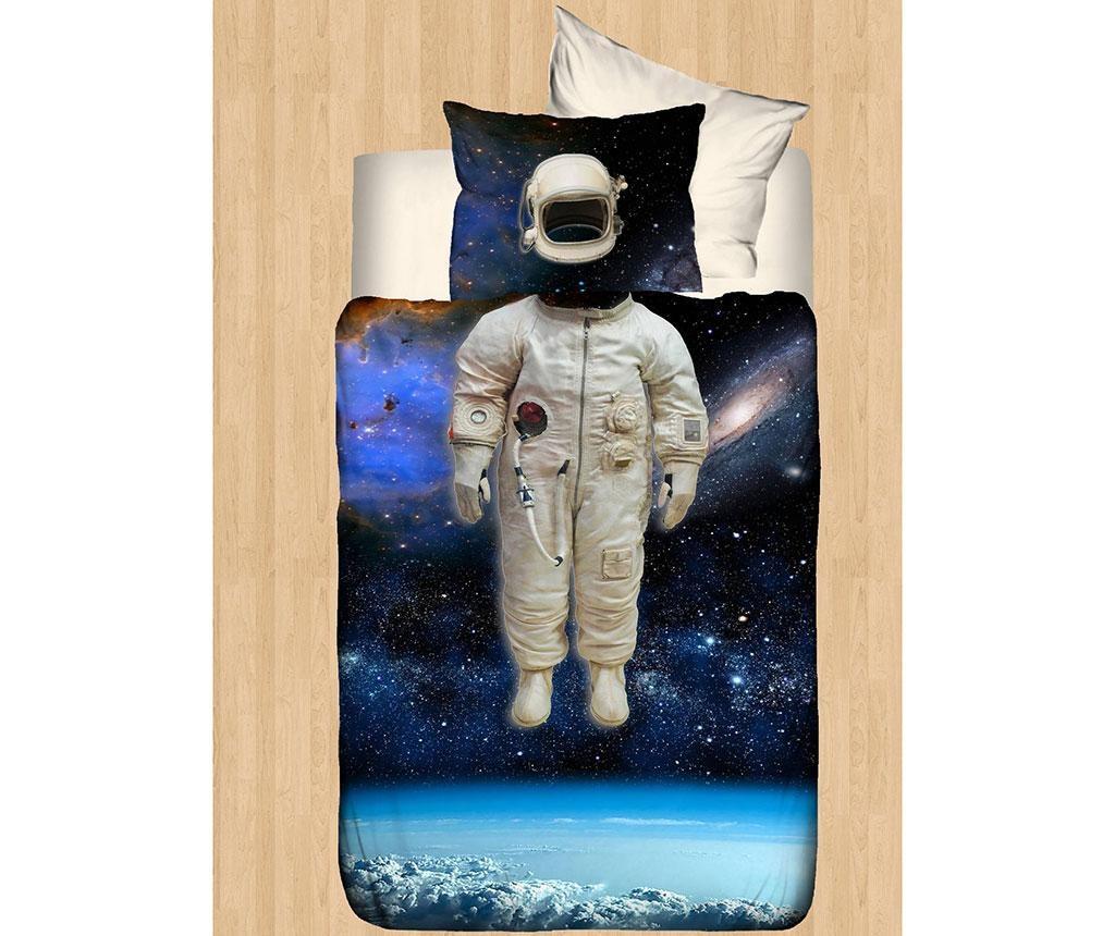 Lenjerie de patut Ranforce 3D Astronaut 100x150