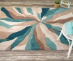 Килим Splinter Teal 160x220 см