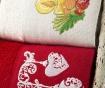Zestaw 2 ręczników do twarzy Bells and Light 40x60 cm