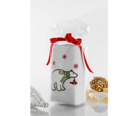 Kopalniška brisača Polar Bear Gift 30x45 cm