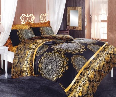 Komplet pościeli Double Ranforce Ottoman Curl Yellow