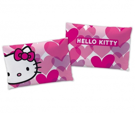 Ukrasni jastuk Hello Kitty Miami Love Pink 28x42 cm
