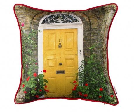 Jastučnica Yellow Door 43x43 cm