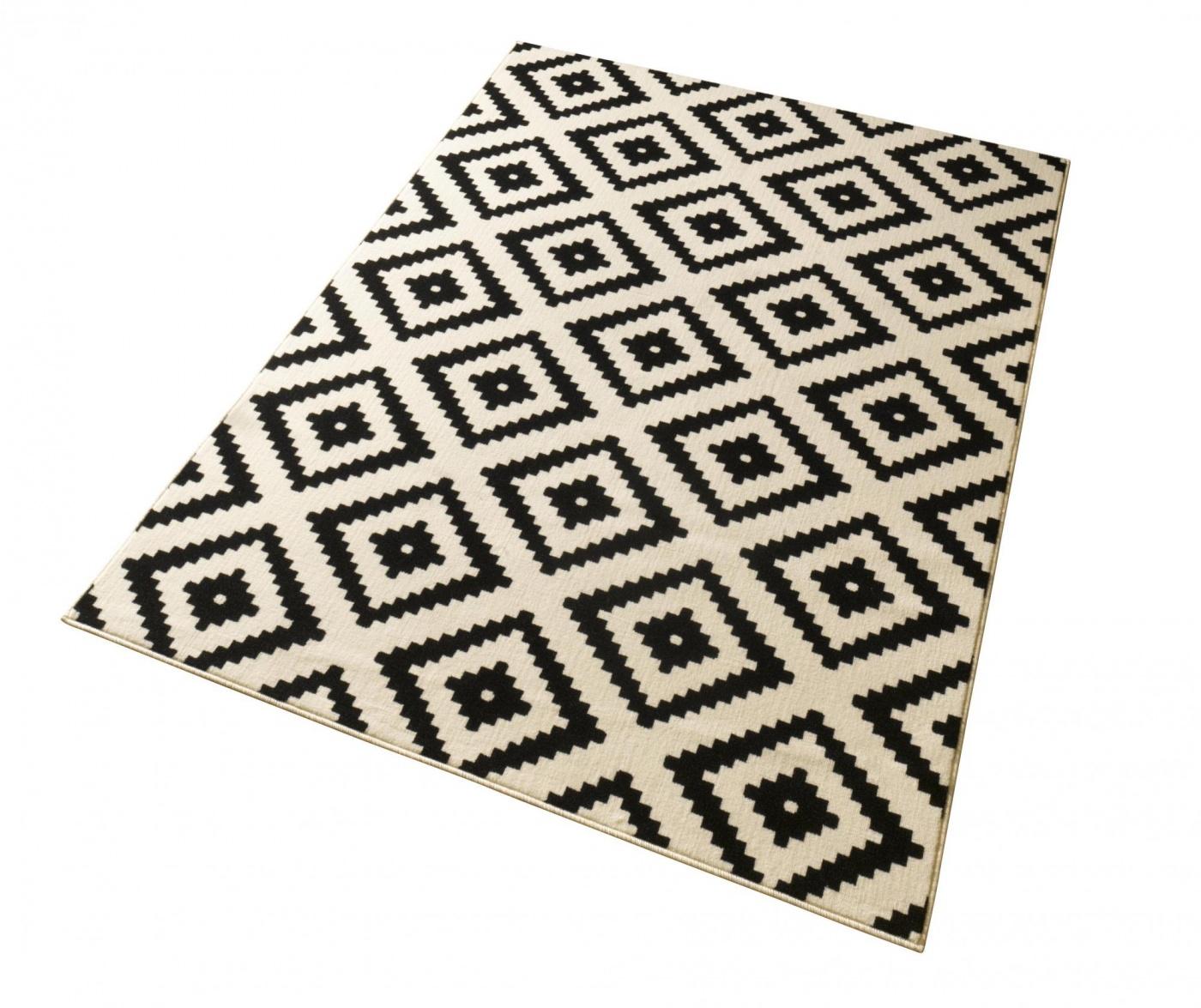 Covor Diamond Black 80x200 cm