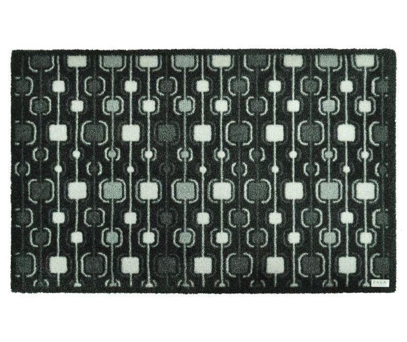 Covoras de intrare Funky Grey 50x70 cm