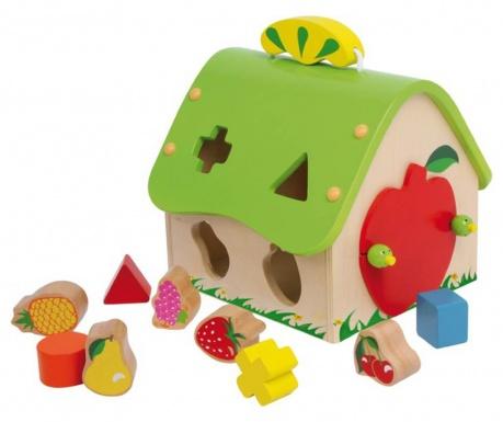 Joc de potrivire a formelor Fruit House