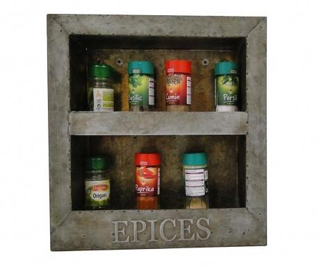 Spices Fali polc