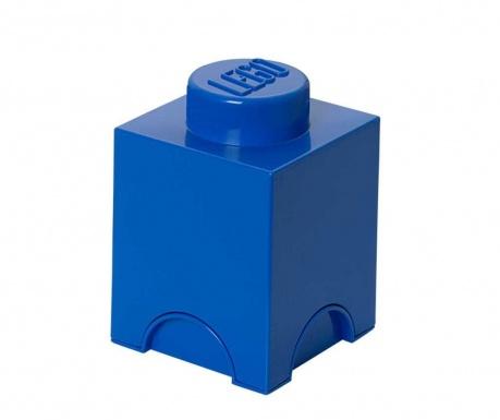 Krabica s vekom Lego Square Blue