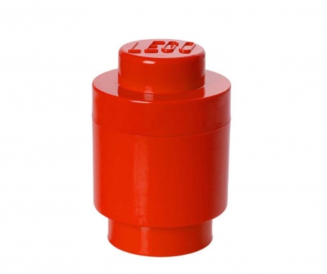Krabica s vekom Lego Round Red