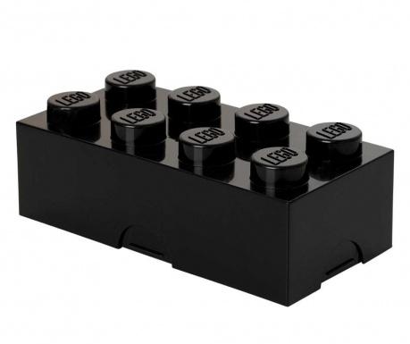Kutija za užinu Lego Black