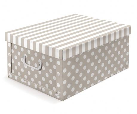Кутия за съхранение с капак Trend Beige