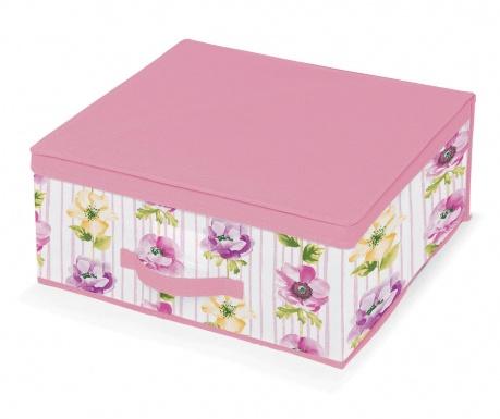Úložná krabica s vekom Beauty Flowers M