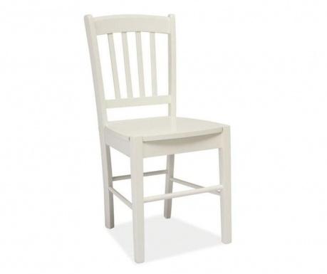 Krzesło Striped White