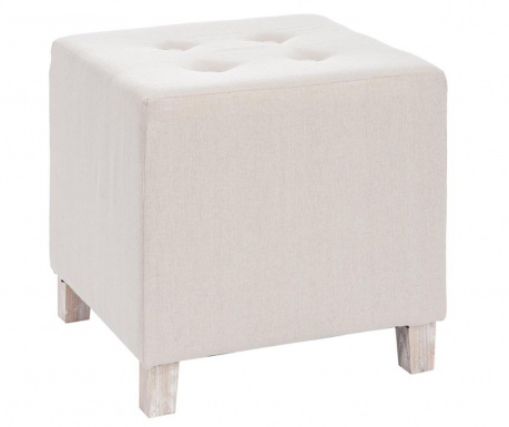 Taboret Hassock Cube Beige