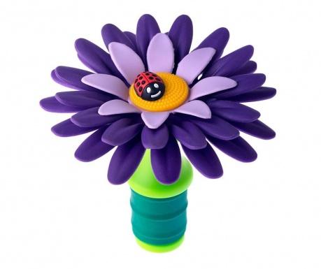 Τάπα μπουκαλιού Flower Power Purple