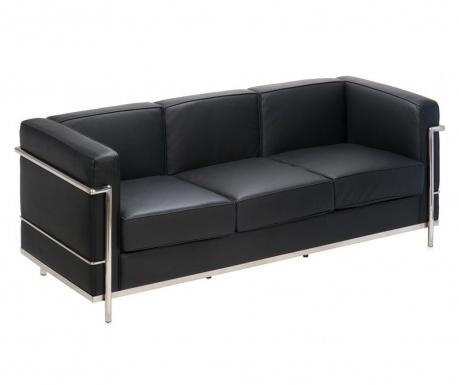 Canapea 3 locuri Praga Black