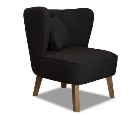 Fotel Percale Black