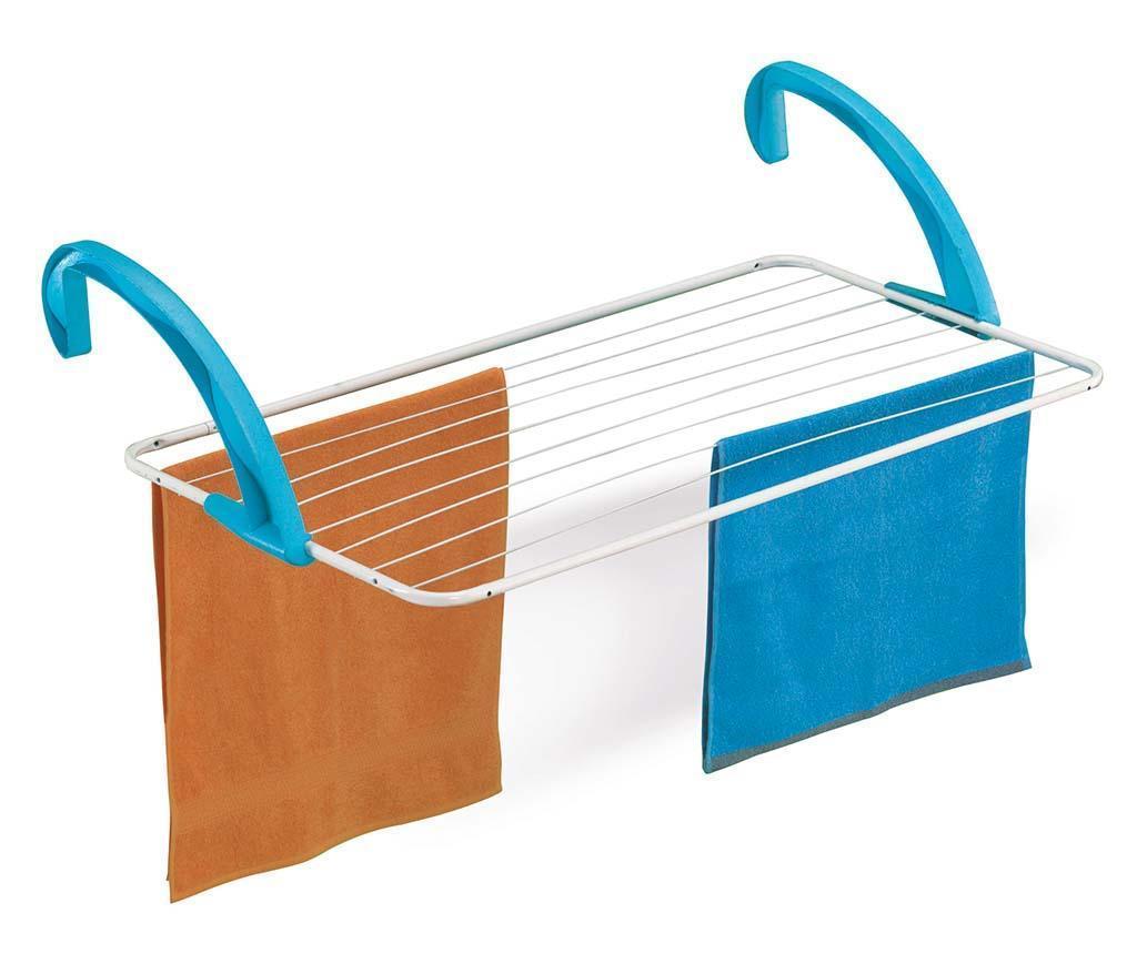 Uscator de rufe pentru balcon Dino - CASABRIKO, Albastru