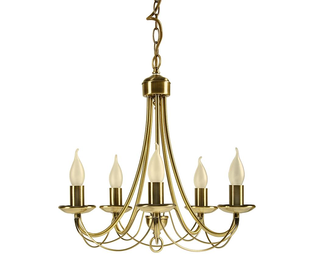 Candelabru Muza Five - Candellux Lighting, Galben & Auriu
