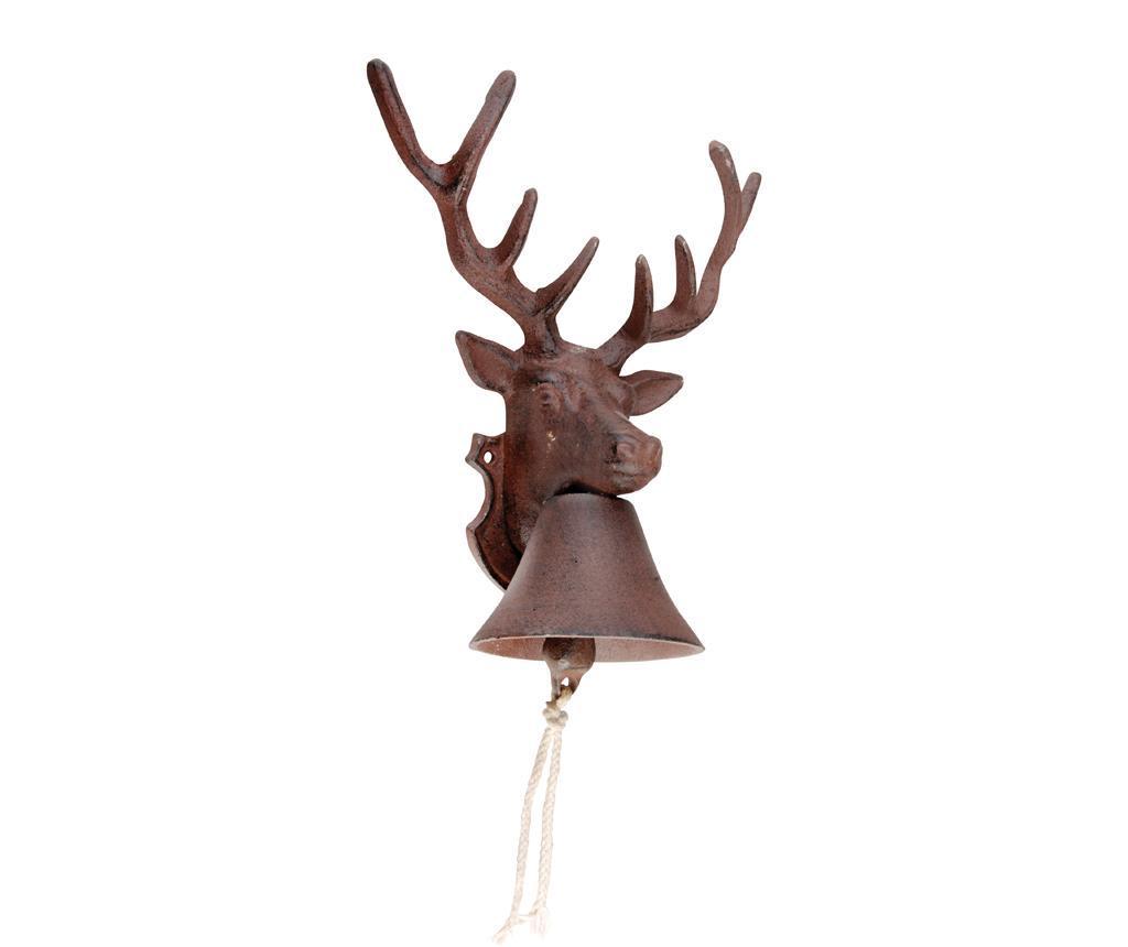 Clopotel de intrare Deer - Esschert Design, Maro