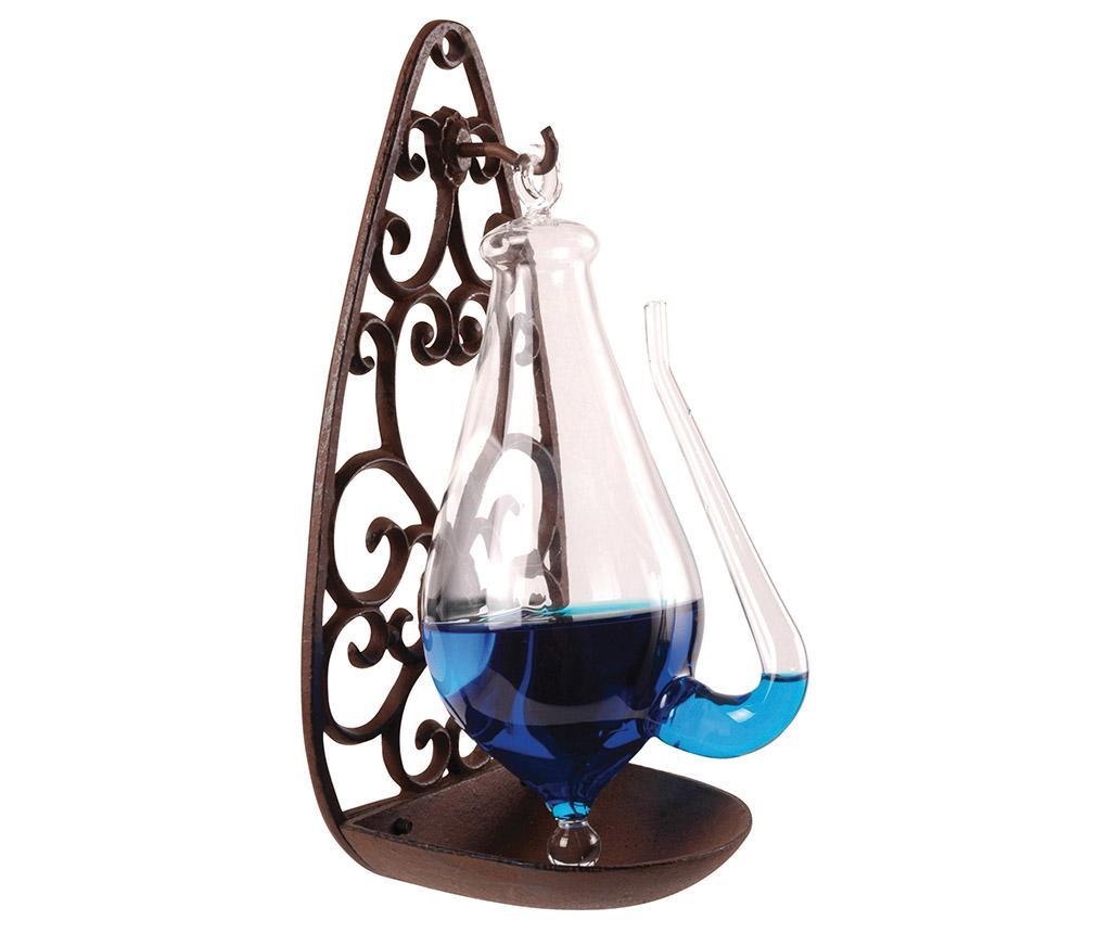 Barometru cu suport Blue - Esschert Design, Albastru