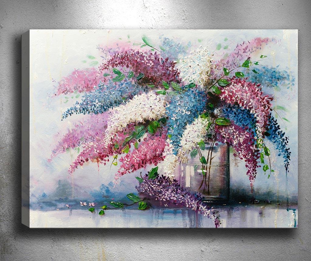 Tablou Lovely Lilac 50x70 cm - Tablo Center, Multicolor